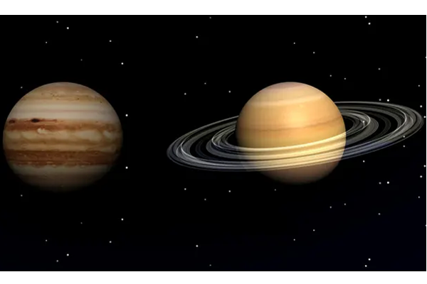 Jupiter and Saturn will be closest in 400 years in the Earth's sky Monday night
