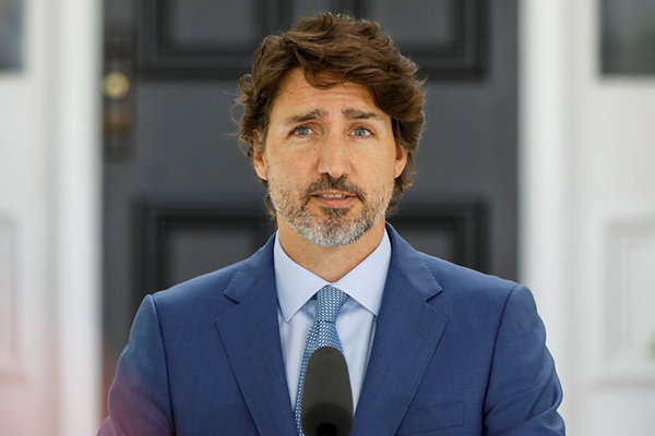 Canada's Trudeau to be vaccinated publicly 'when turn comes'
