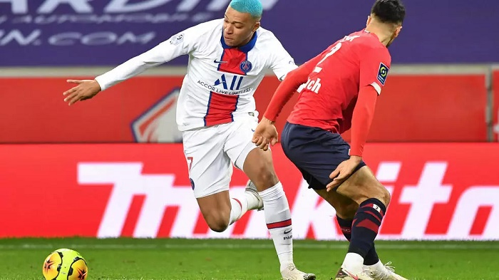 Lille reclaim top spot with PSG stalemate