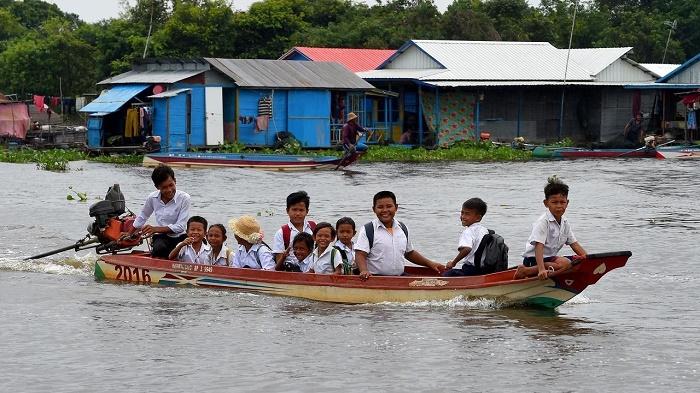 Cambodia's giant life-giving Tonle Sap lake in peril