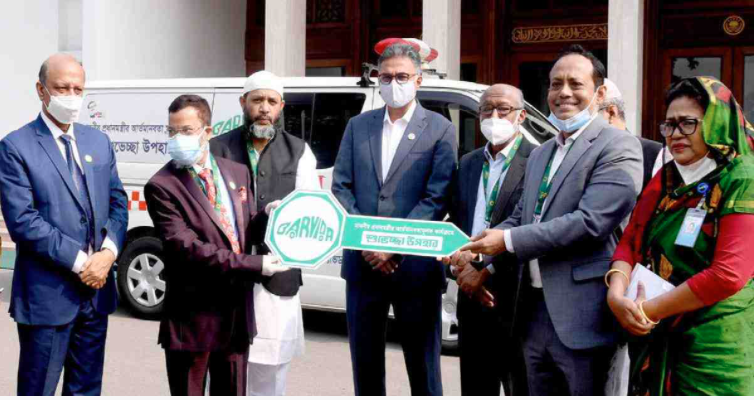 BARVIDA donates ambulance to PM's humanitarian programme