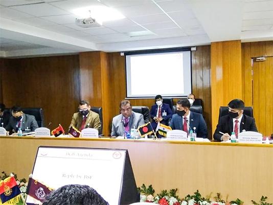 BGB - BSF DG level talks begin in Guwahati