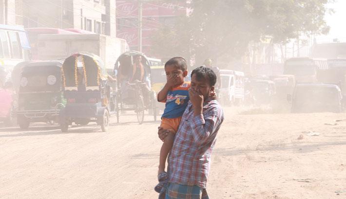 Dhaka air 'hazardous'