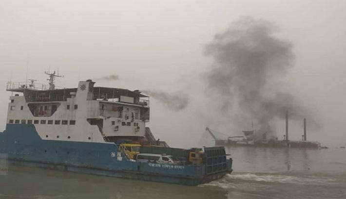 Ferry services on Paturia-Daulatia route resume