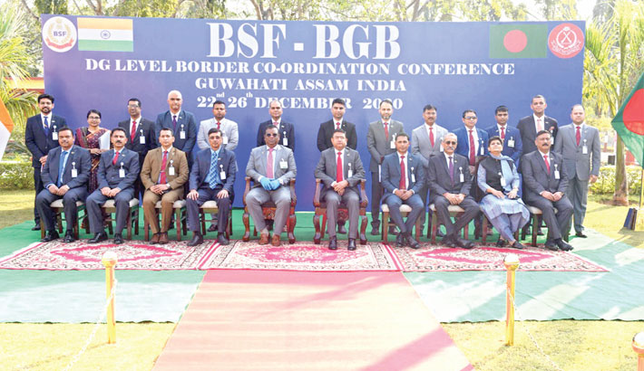 BGB-BSF  talks begin  in Guwahati