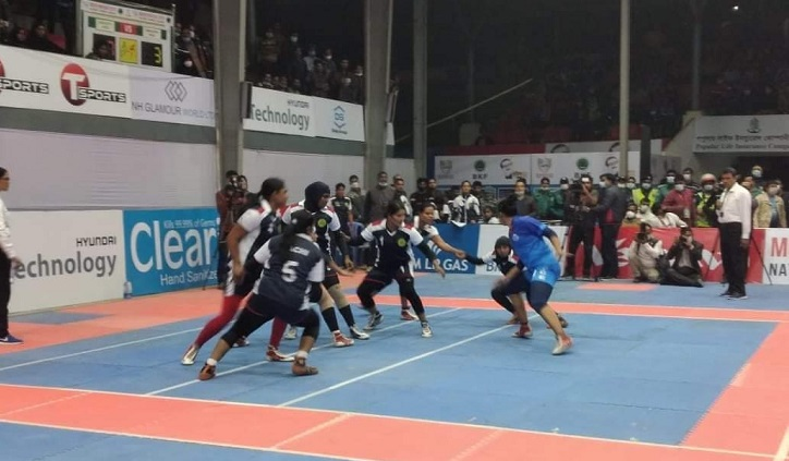 Ansar bag title of Nat'l Women Kabaddi