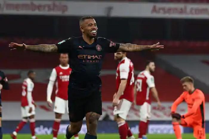 Arteta's problems mount as Man City reach League Cup semis at Arsenal's expense