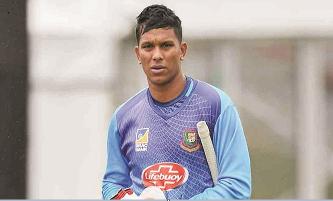 Injured Saifuddin hopeful about Windies series
