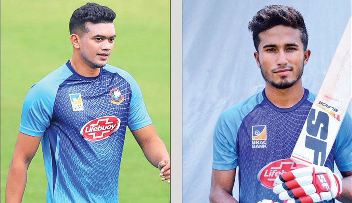Taskin, Afif picked for T10
