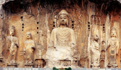 Over 900-yr-old Buddhist cliff carvings found in north China
