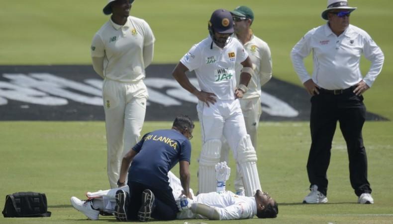 De Silva injured after leading Sri Lankan revival