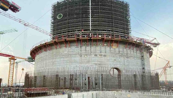 Reactor pit construction at Rooppur NPP power unit No.1 completed