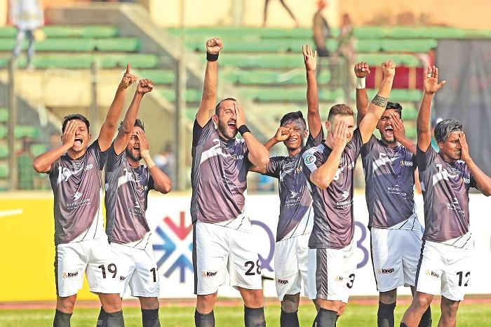 Dream debut for Bashundhara Kings in AFC