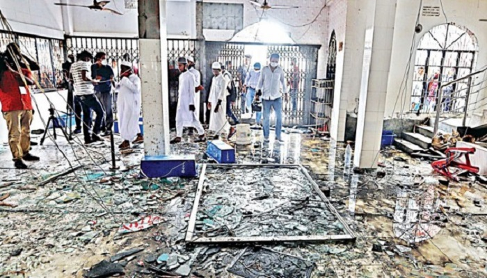 CID submits charge-sheet in  N'ganj mosque blast case