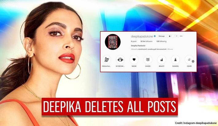 Deepika Padukone deletes all Instagram, Twitter posts