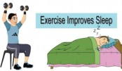 What is the best time to exercise to help improve sleep?