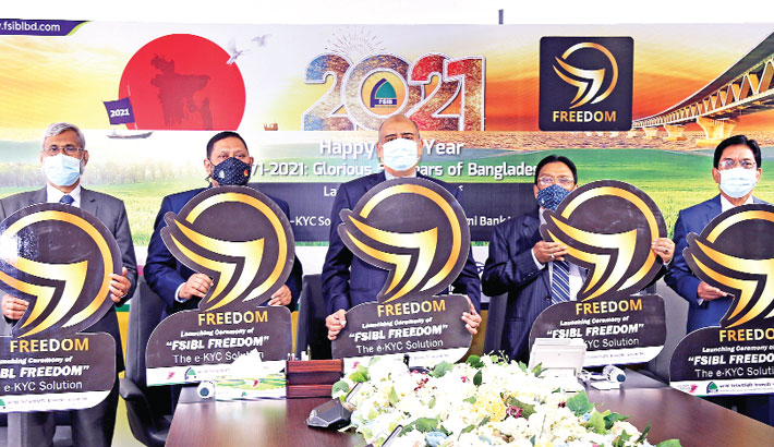 FSIBL launches e-KYC based solution 'FSIBL Freedom'