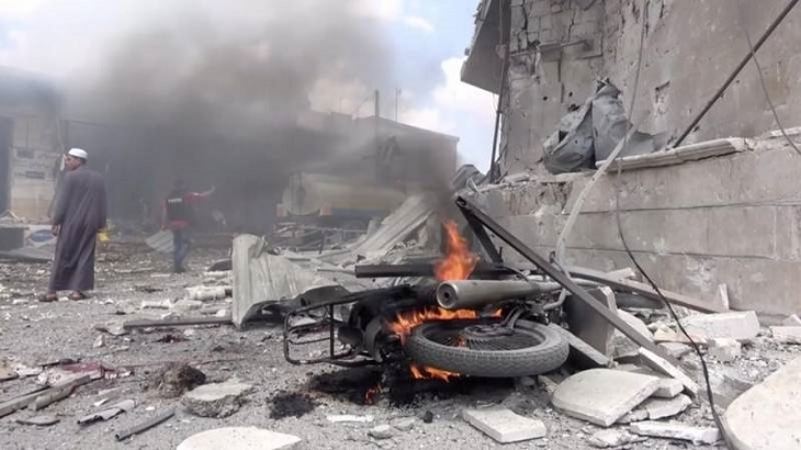 At least 15 killed in Syria road attack: monitor