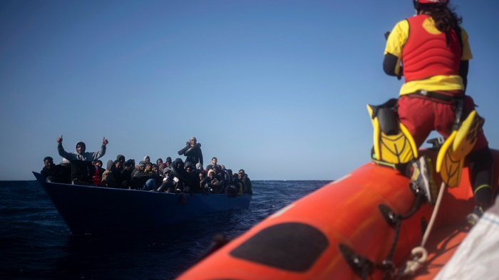 Spanish-flagged boat rescues 265 migrants in Mediterranean