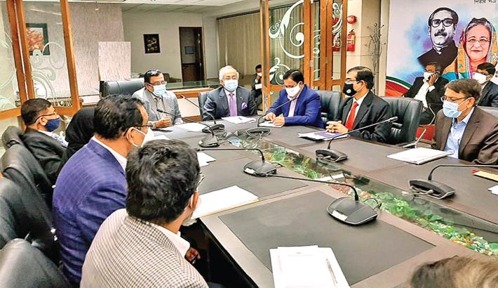 Agrani Bank organises business review meeting