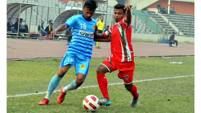Saif SC face Ctg Abahoni in 1st semi on Wednesday