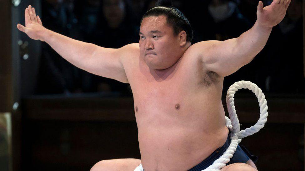Japan's top sumo wrestler infected with coronavirus