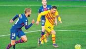 Barca win as Messi makes 500th La Liga appearance