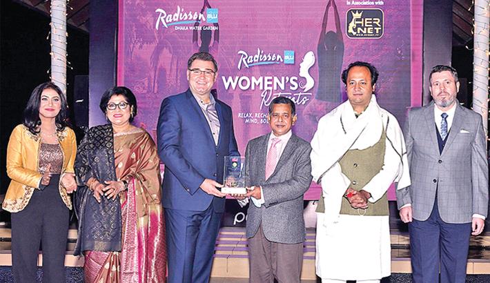 Radisson Blu Dhaka awarded for women empowerment