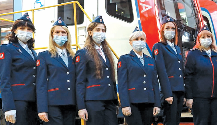 Moscow metro hires first female drivers