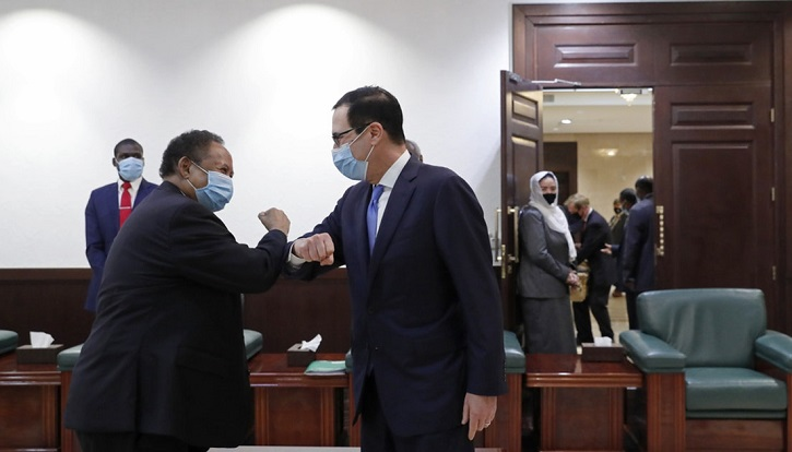 US signs deal giving Sudan access to over $1 bln: ministry