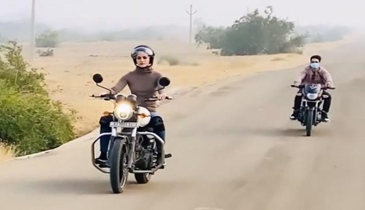 Kriti Sanon reveals her biking fantasy