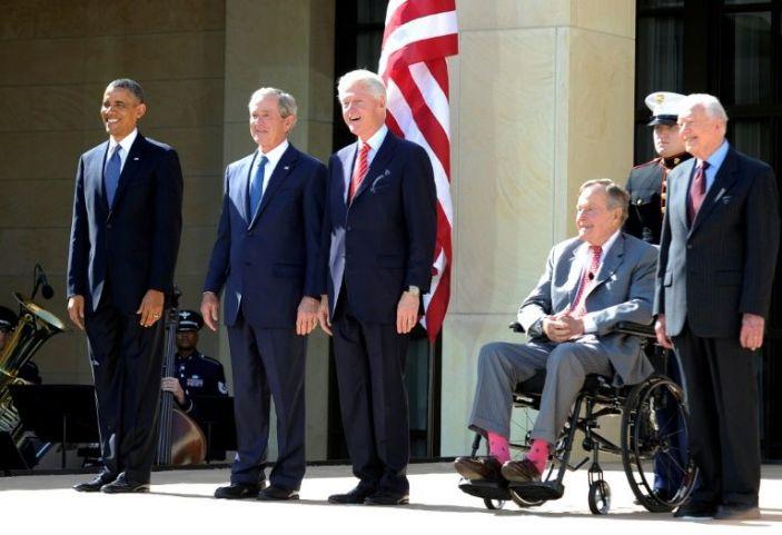 Former US presidents denounce Capitol violence