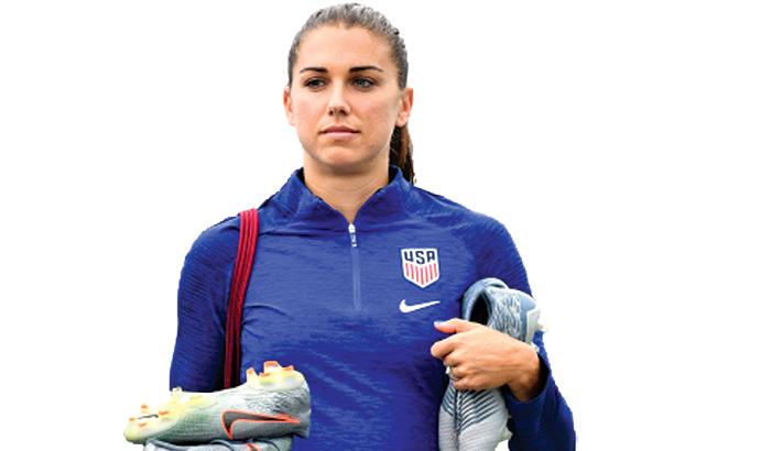 USA captain Alex Morgan tests positive for Covid-19