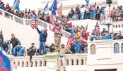 Pro-Trump supporters storm the US Capitol