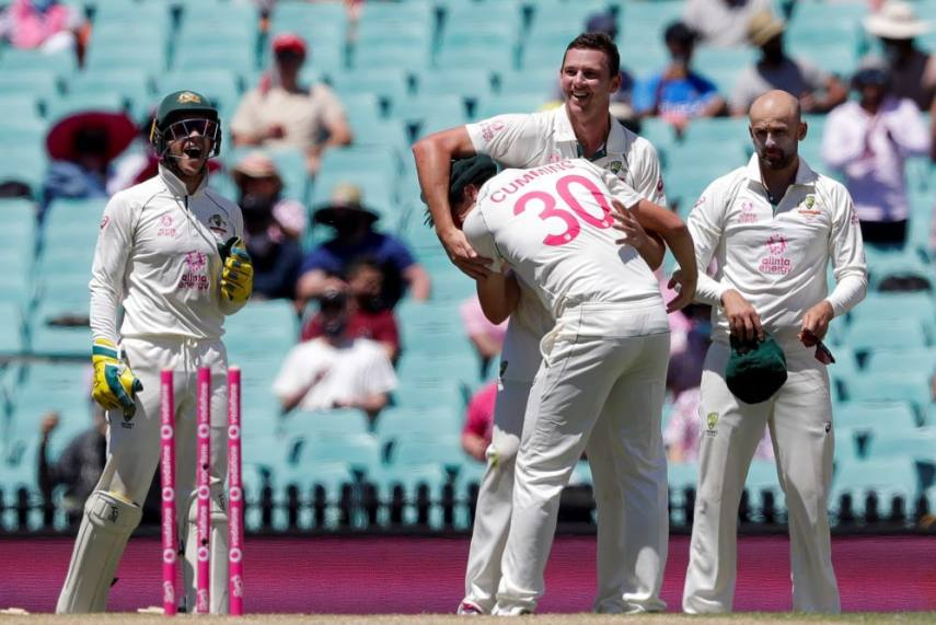 India all out for 244, trail Australia by 94