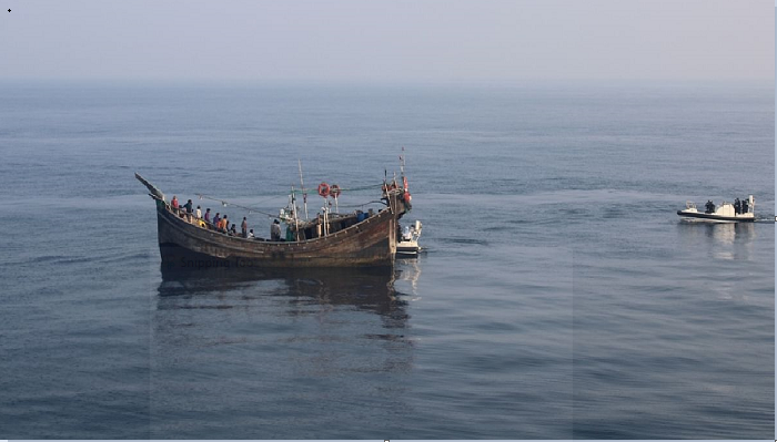 18 fishermen rescued after 22 days floating in Bay