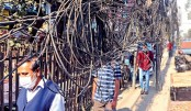 DSCC resumes drive to remove overhead cables