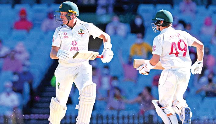 Labuschagne, Smith steer Australia to ominous lead