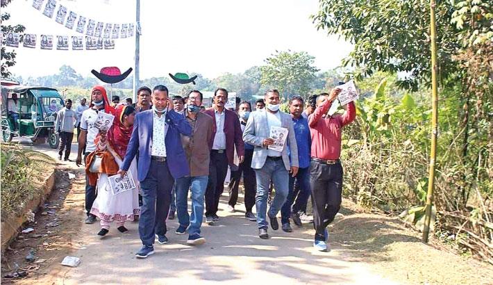 Awami League mayoral candidate for the Khagrachhari municipality