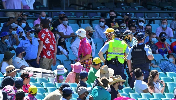 ICC probes racist abuse after fans ejected from Sydney Test