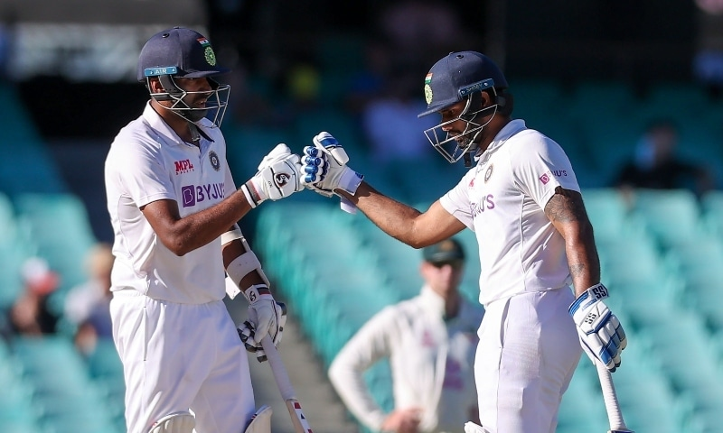 Defiant India stand firm for fighting draw in third Australia Test