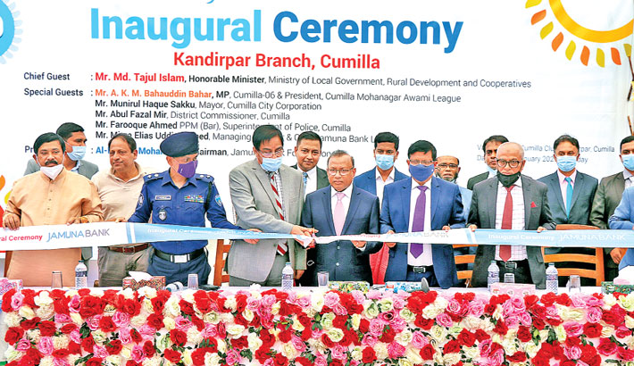 Jamuna Bank opens 149th branch in Cumilla