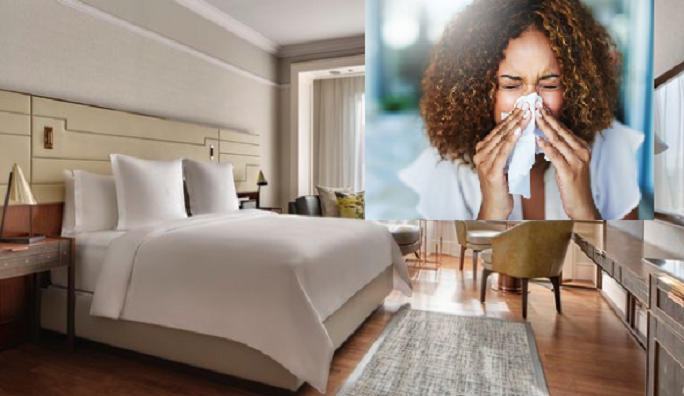 Luxury hotel creates rooms specifically designed for allergy-prone guests
