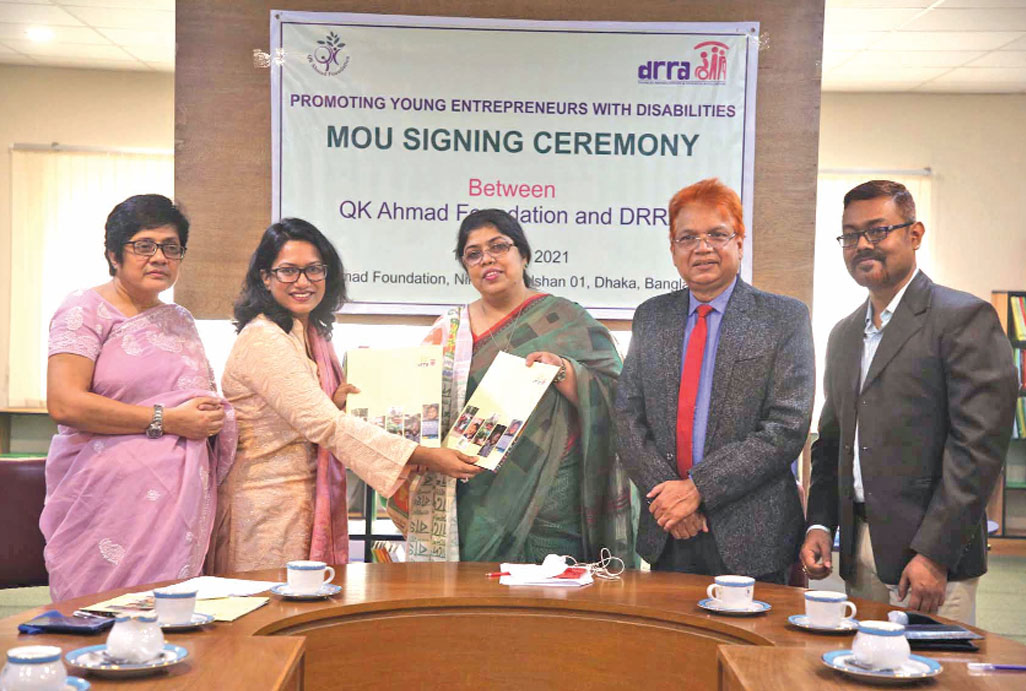 QK Ahmad Foundation, DRRA sign deal