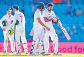 Defiant India stand firm for fighting draw