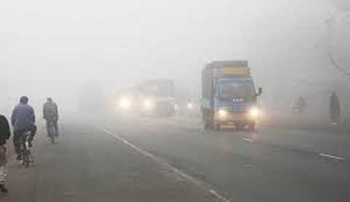 Cold wave sweeps over six regions