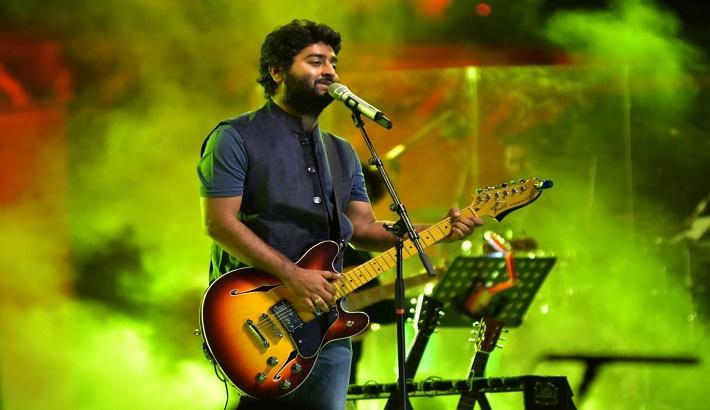 Indian singer Arijit Singh lent his voice in upcoming film 'The Power'