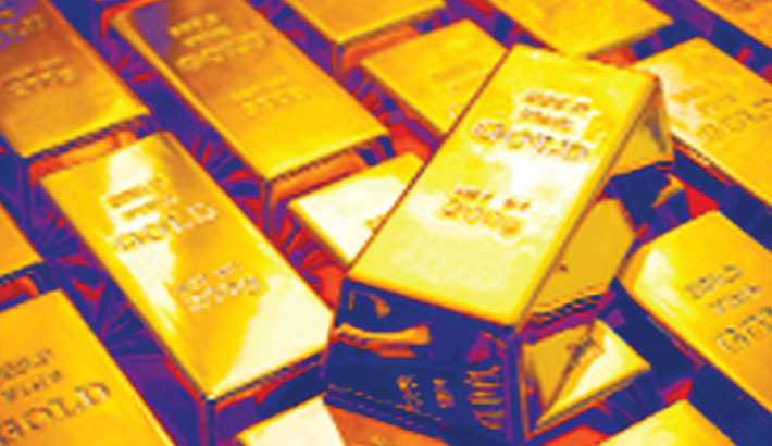 Gold price falls Tk 1,983 per bhori