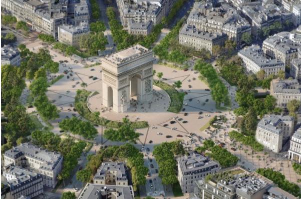 Paris to turn iconic Champs-Elysées into £223million 'extraordinary garden'