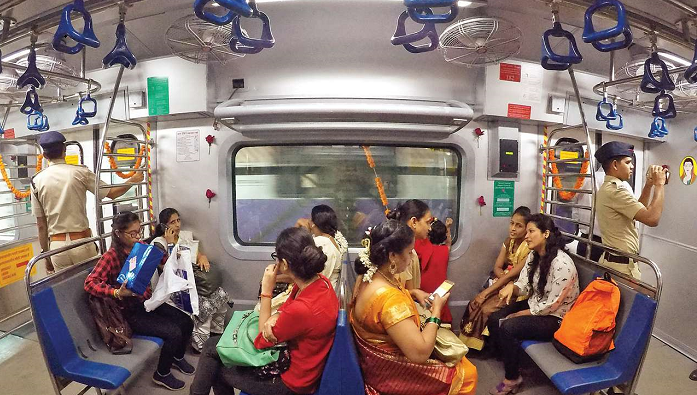 Writ filed for allotting train compartment for women